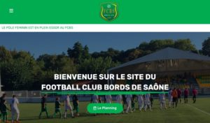 site officiel du fc bords de saône